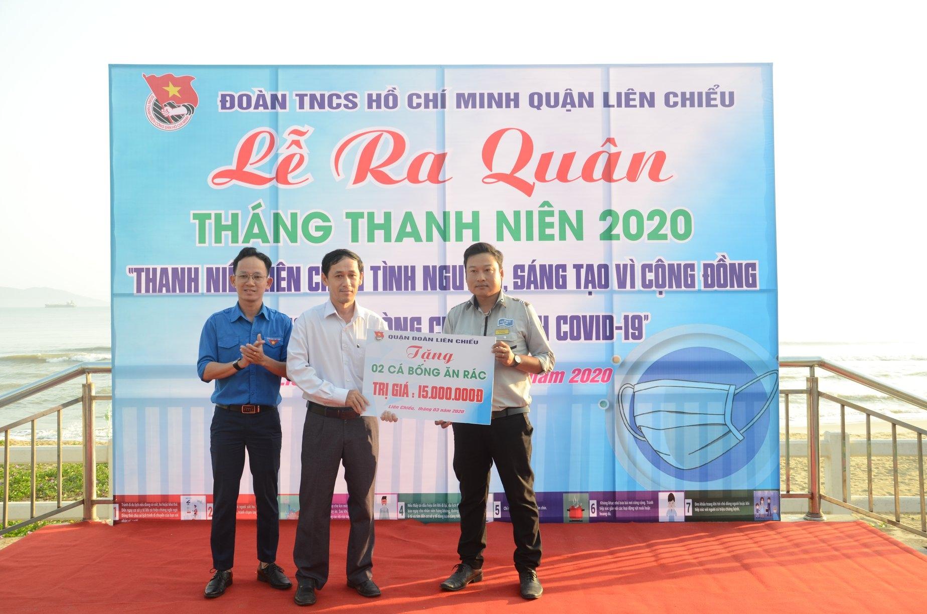 Quận Đoàn Liên Chiểu tổ chức Lễ ra quân Tháng thanh niên năm 2020