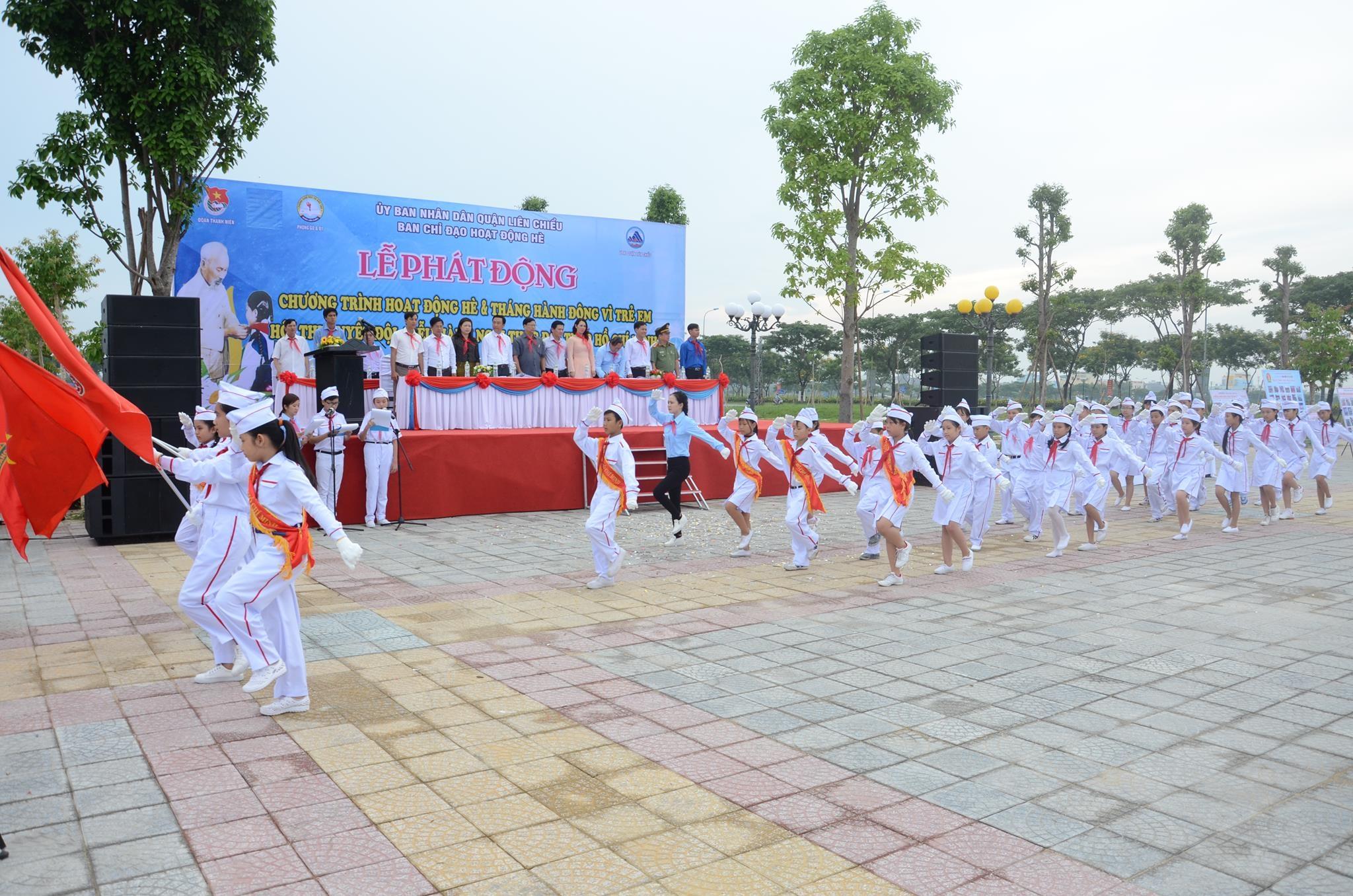 Liên Chiểu tổ chức Lễ phát động hoạt động hè năm 2017