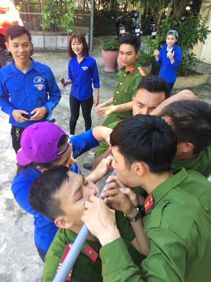 Câu lạc bộ Sức Trẻ tham gia chương trình giao lưu Ngày hội văn hóa dân gian với chi đoàn CSPCCC số 4