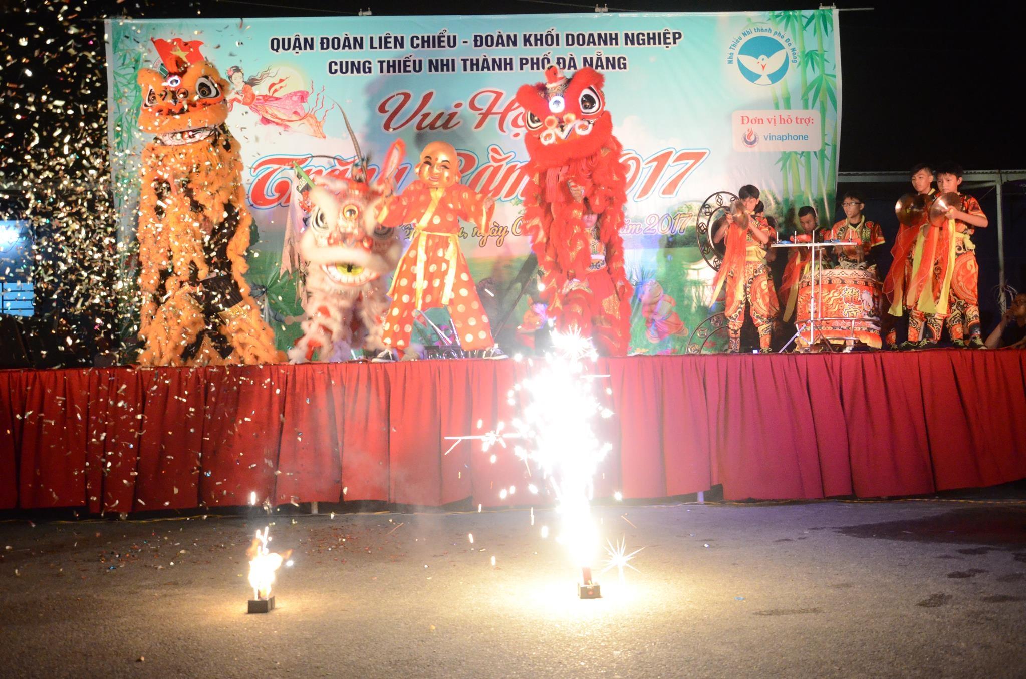 Liên Chiểu tổ chức Chương trình Trung thu cho thiếu nhi Làng Vân, tổ 14 phường Hòa Hiệp Nam
