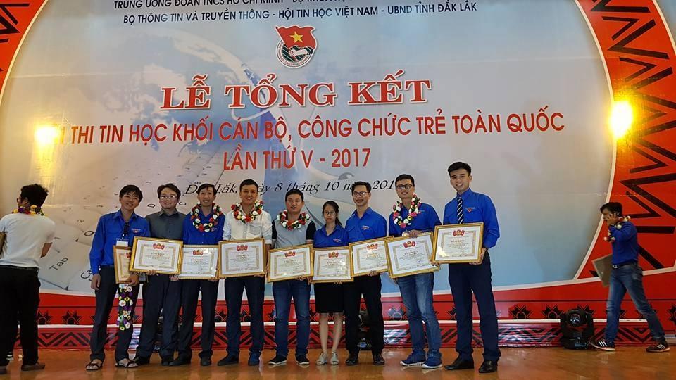 Tổng kết Hội thi Tin học khối CBCC trẻ toàn quốc năm 2017