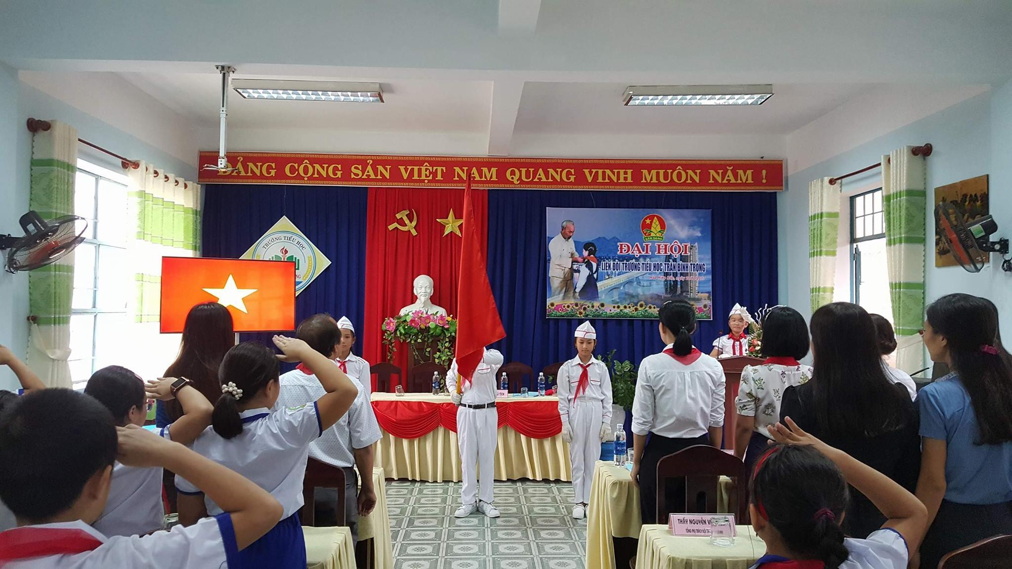 Hoạt động của Liên đội Trần Bình Trọng trong học kỳ 1 năm học 2017-2018