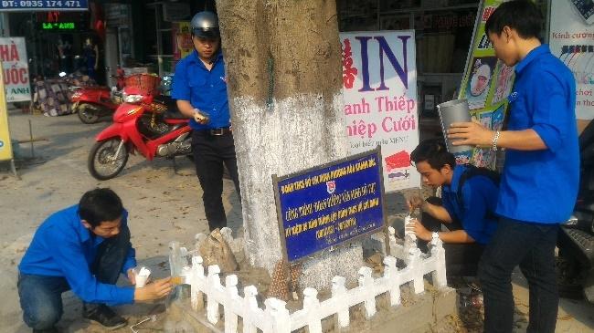 Một số hoạt động tiêu biểu của Đoàn phường Hòa Khánh Bắc trong tháng 3/2018