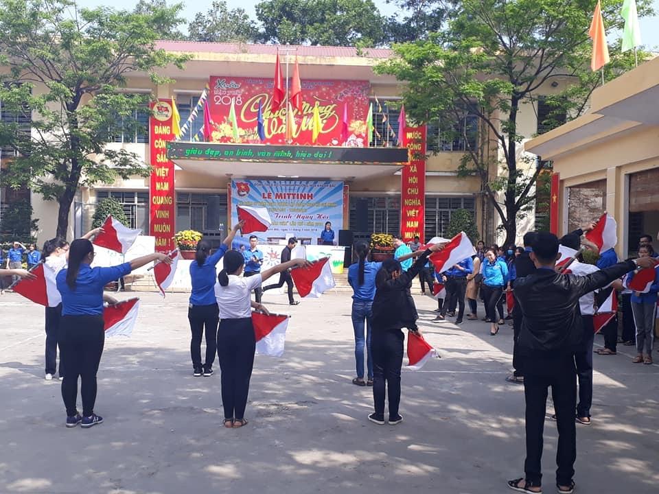 Hòa Khánh Bắc tổ chức Kỷ niệm 87 năm Ngày thành lập Đoàn TNCS Hồ Chí Minh (26/3/1931 - 26/3/2018)