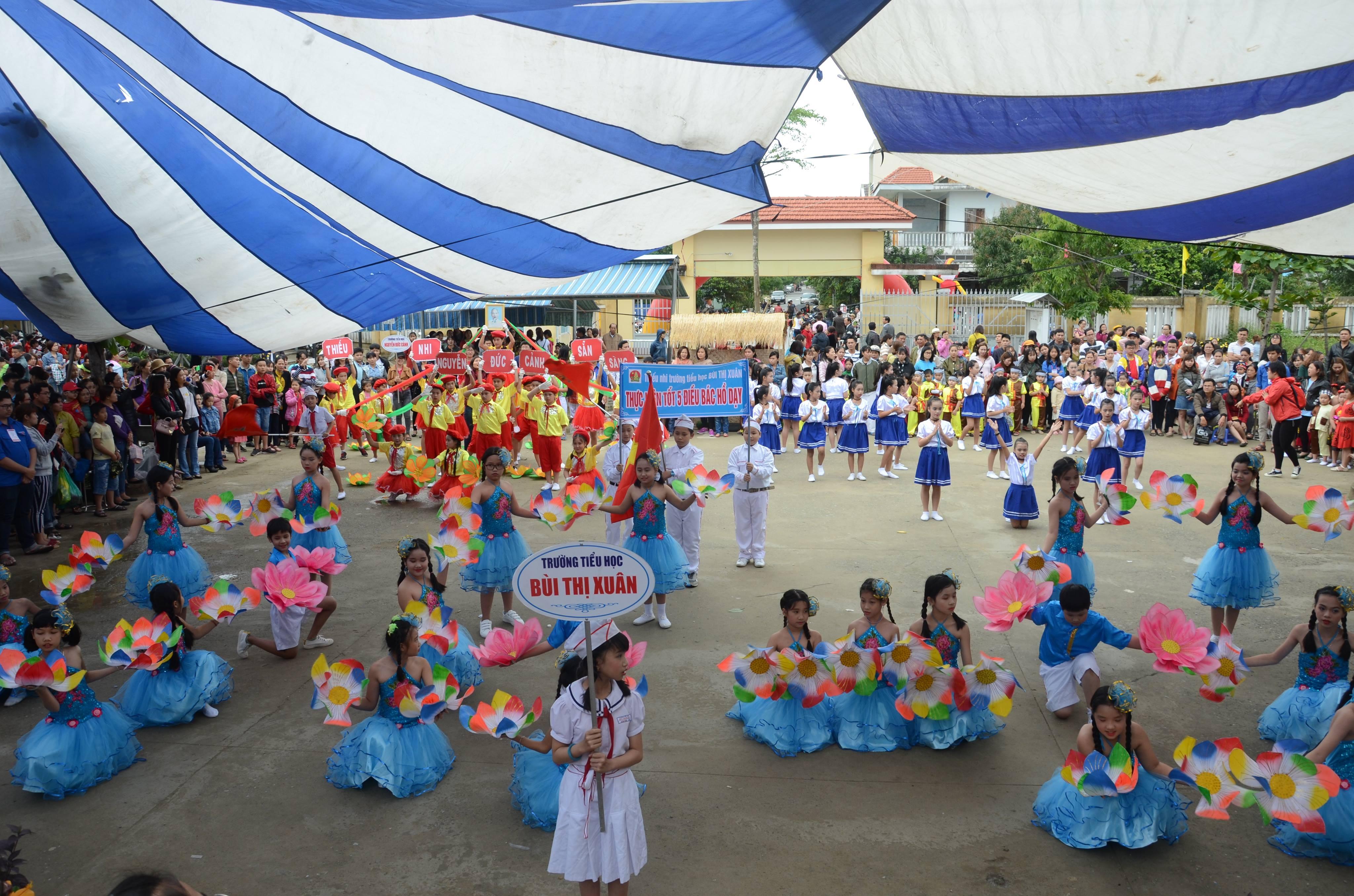 Liên Chiểu tổ chức Ngày hội học sinh năm 2018