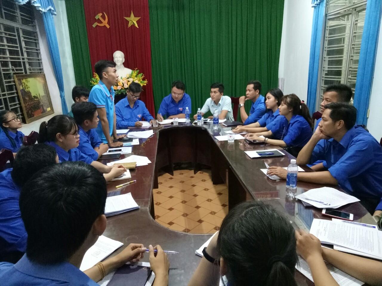 Hòa Khánh Bắc tổ chức hội nghị Sơ kết công tác Đoàn và phong trào thanh thiếu nhi 6 tháng đầu năm 2018