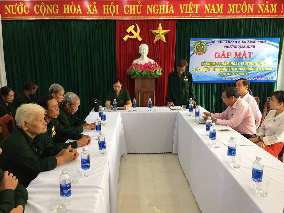 Hòa Minh gặp mặt kỷ niệm 68 năm ngày truyền thống lực lượng TNXP Việt Nam