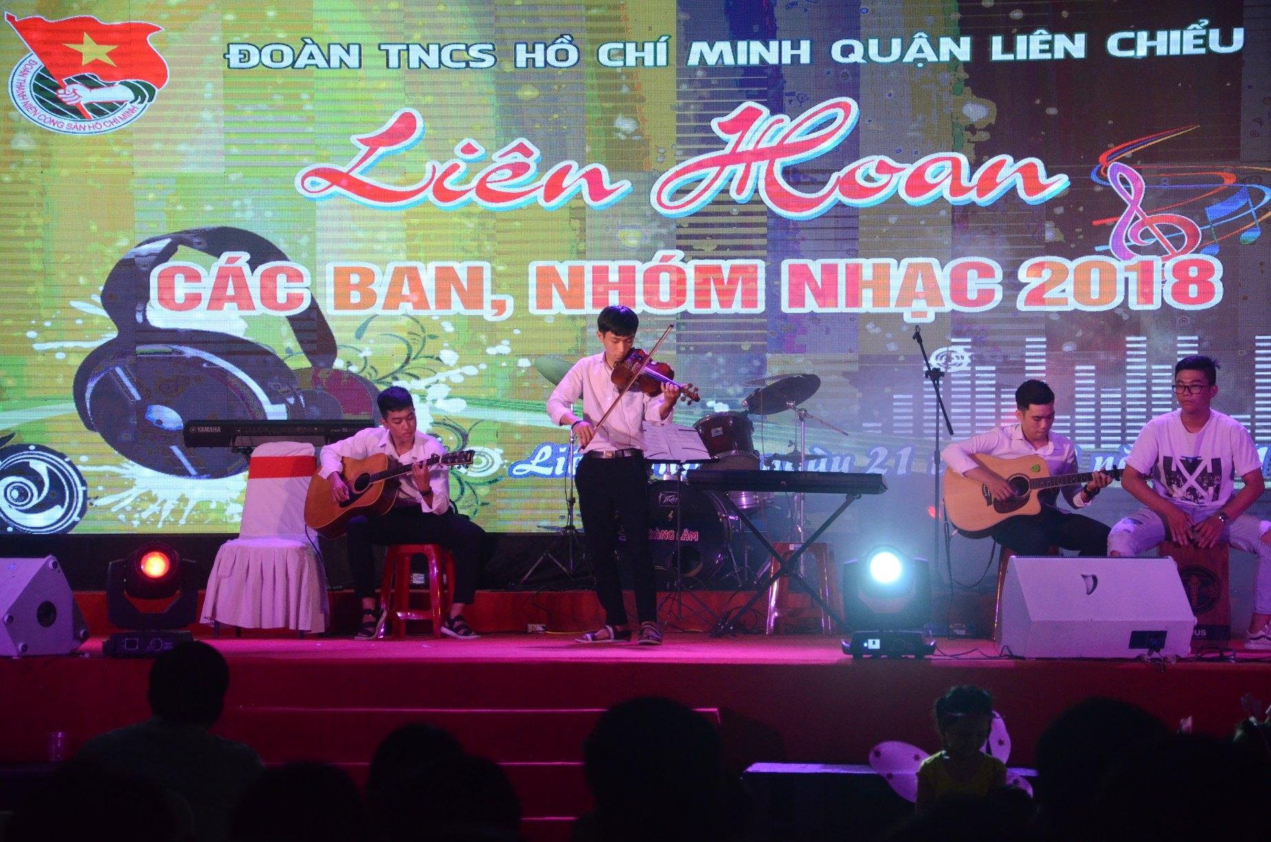 Quận Đoàn tổ chức Liên hoan các ban, nhóm nhạc năm 2018
