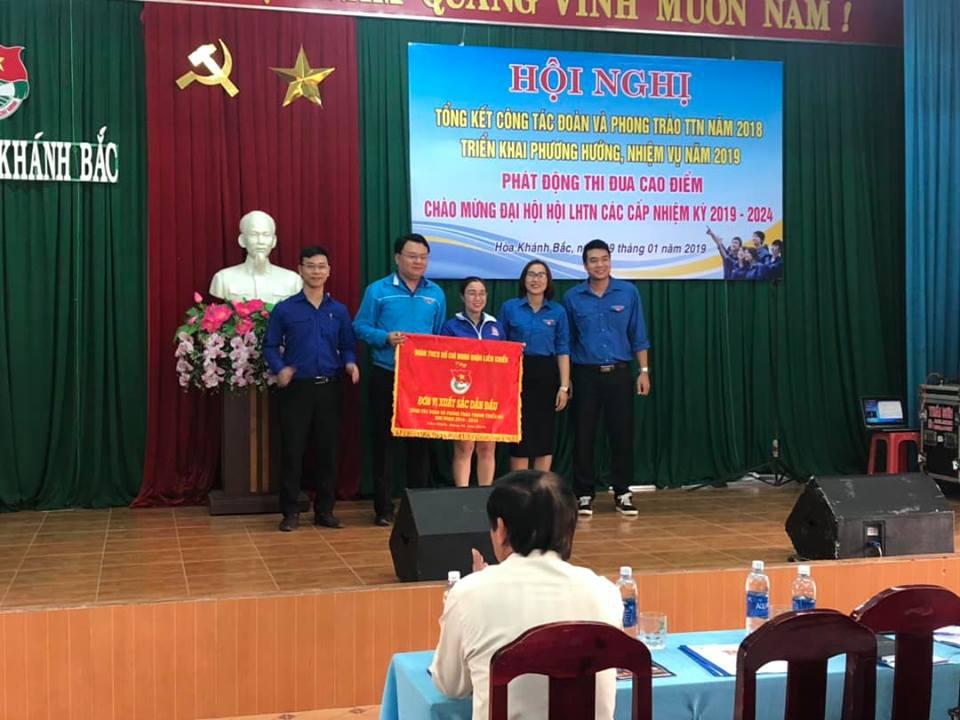 Hòa Khánh Bắc tổ chức Hội nghị tổng kết công tác Đoàn và phong trào thanh thiếu nhi năm 2018
