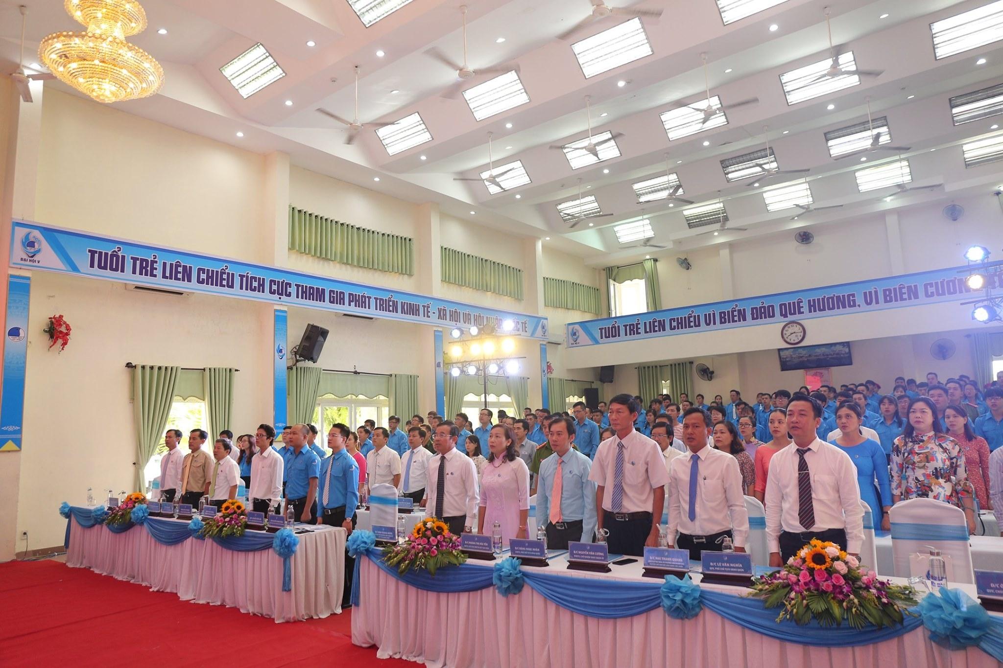 Đại hội Hội Liên hiệp thanh niên Việt Nam quận Liên Chiểu lần thứ V, nhiệm kỳ 2019 - 2024